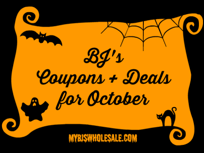 BJs Coupons and Deals for October 2014