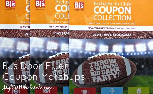 BJs Door Flyer Coupon Matchups Through February 4th