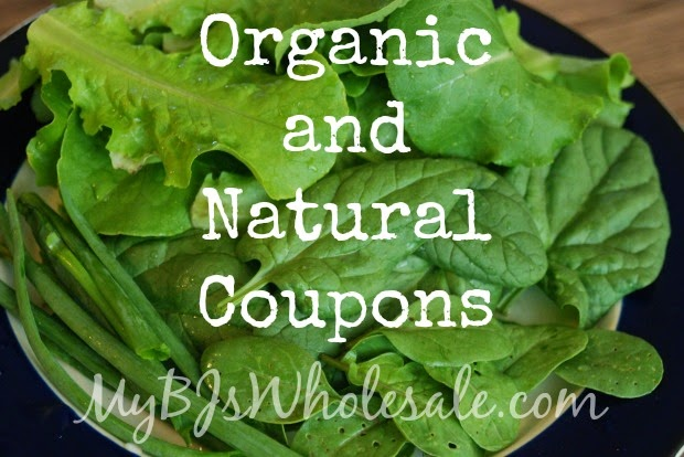 list of printable natural and organic coupons