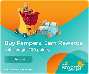 Pampers Rewards Codes: Bank 35 Points