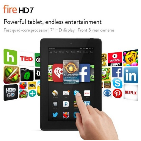 Fire HD 7 Tablet from Amazon $79 (Today Only)