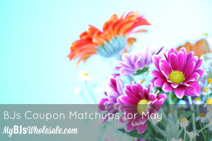 BJs Coupon Matchups for May 2015