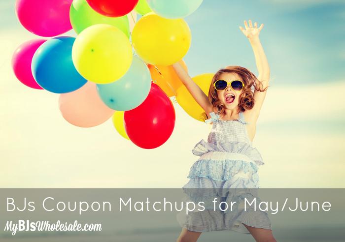 BJs Coupon Matchups Through June 17, 2015