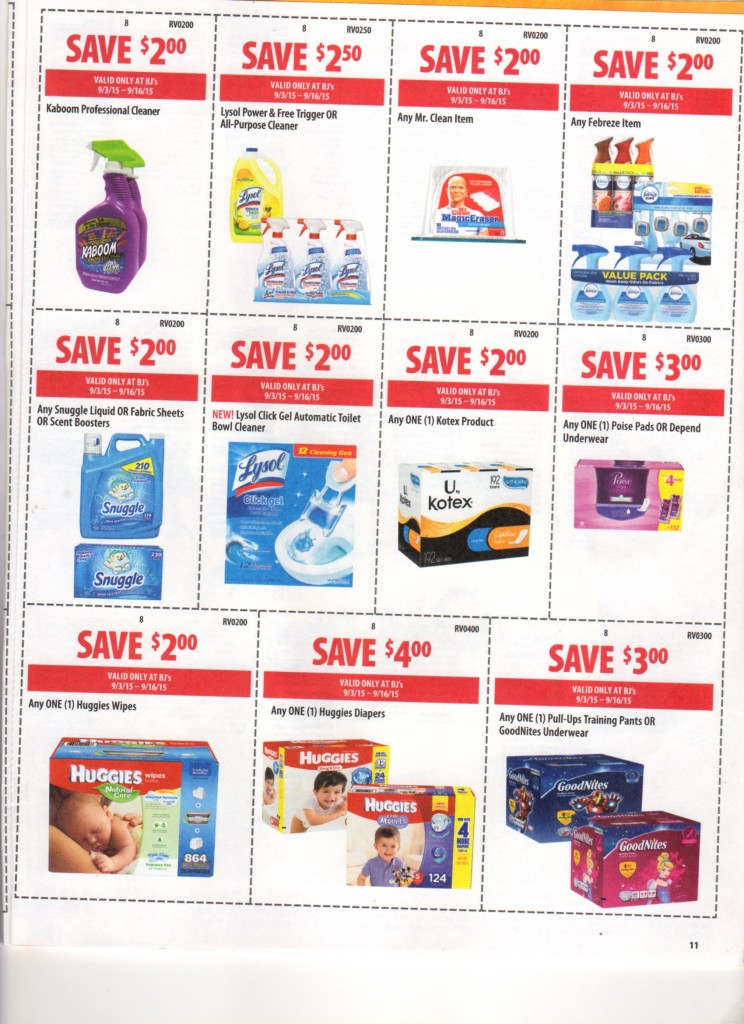 bjs front of store coupon 9/3/15