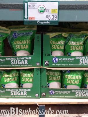 organic wholsome sugar coupon deal at bjs