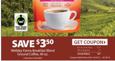 bjs coffee printable coupon