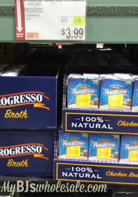 progresso soup deal free at BJs