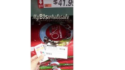 purina one deal at bjs wholesale club