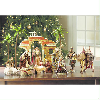 nativity set at bjs