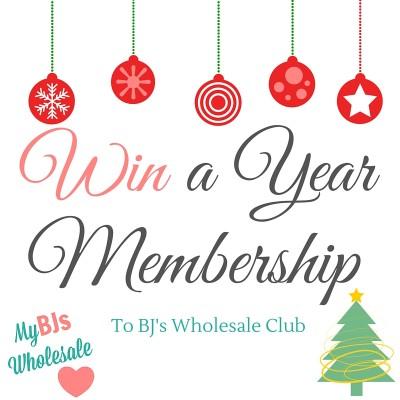 win a year membership to bjs wholesale club