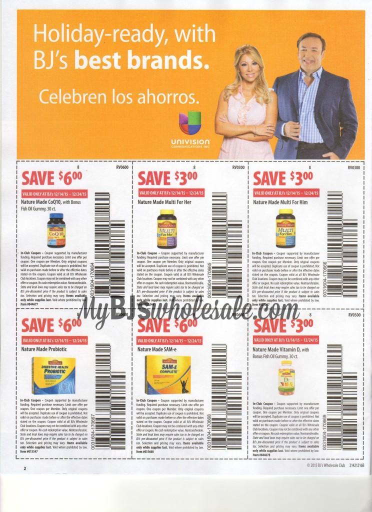 bjs front of store coupons 12/14