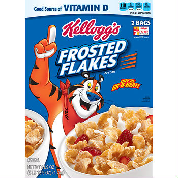 kelloggs frosted flakes free deal