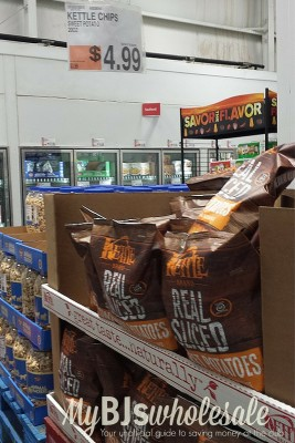 kettle brand chips at bjs wholesale club