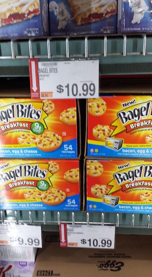 Savingstar New 5 Off Bagel Bites As Low As 5 49 Per Box My Bjs Wholesale Club