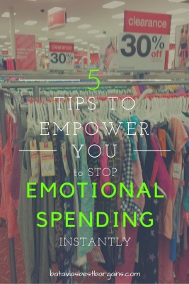 stop emotional spending