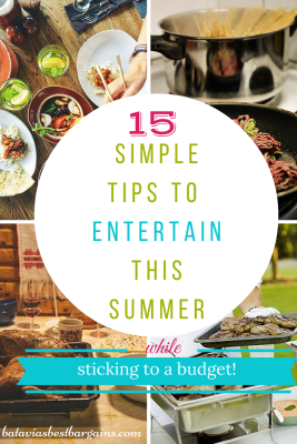 15 simple steps to entertain on a budget