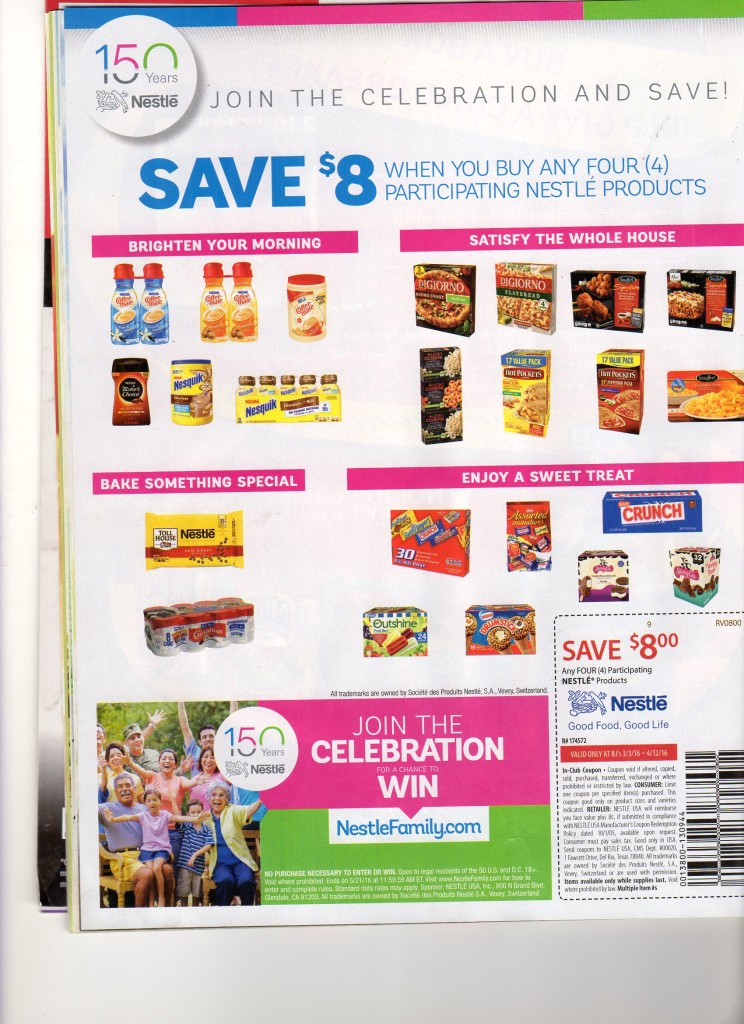 bjs $8 off coupon for nestle products