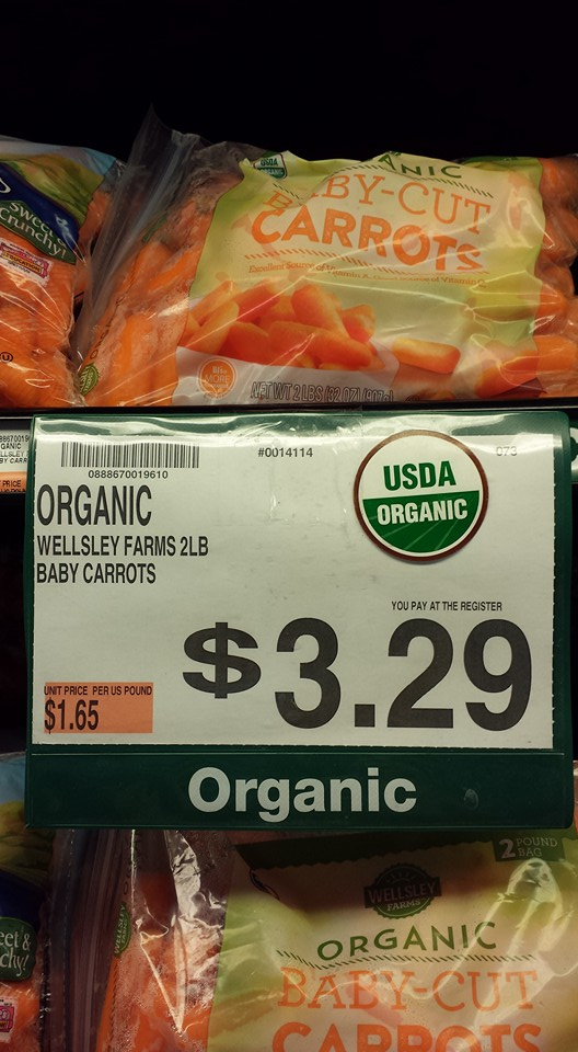 Free Baby Carrots With Hidden Valley Purchase!
