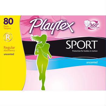playtex sport tampons at bjs wholesale club
