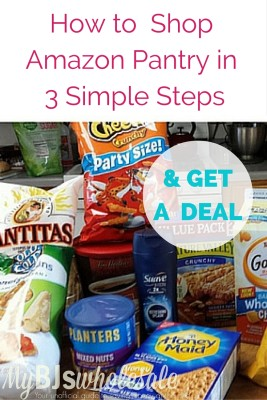 how to shop amazon pantry in 3 easy steps get a deal