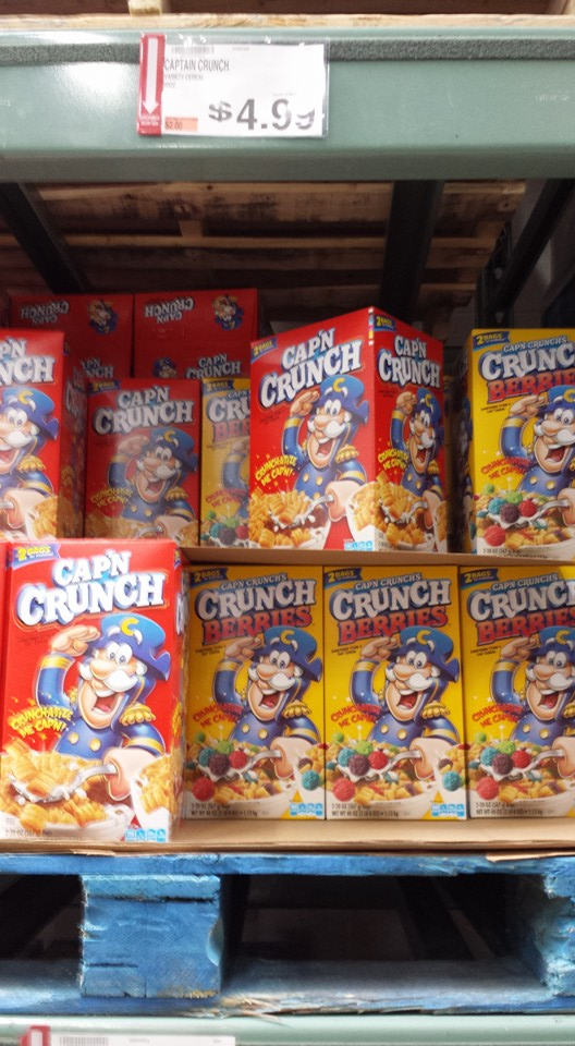 cap'n crunch cereal-deal-at-bjs-wholesale-club