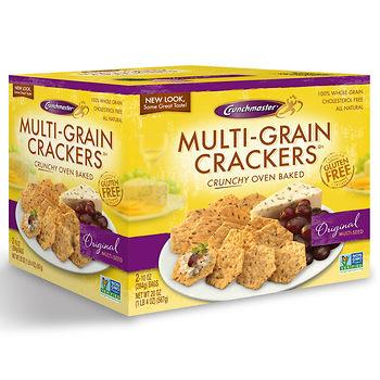 crunchmaster gluten free crackers at bjs