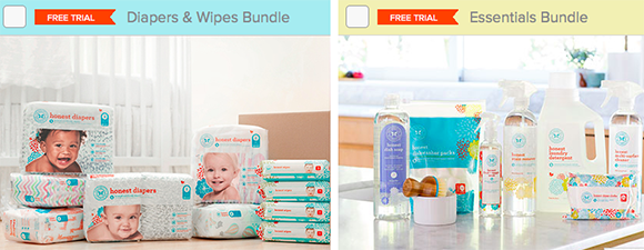 honest company kits to choose free trial