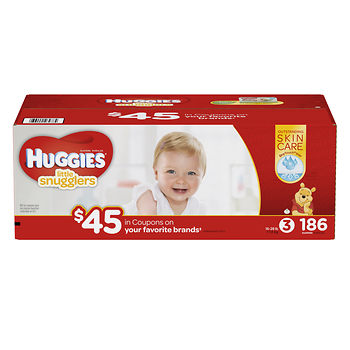Huggies little mvoers diapers plus $45 in coupons at BJs wholesale club