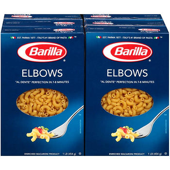 barilla pasta elbows hot deal at BJs Wholesale club