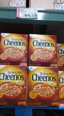 honey nut cheerios deal at BJs after new coupon