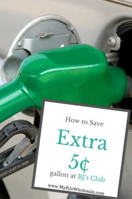 save on bjs gas discount