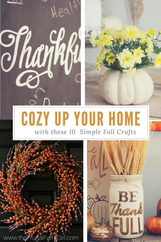 10 fall crafts roundup