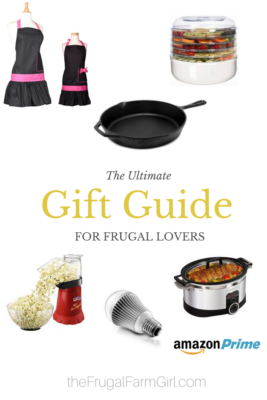 ultimate gift guide for frugal people
