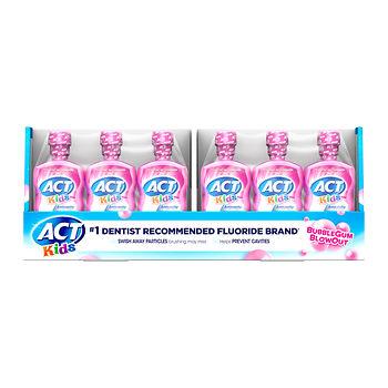 ACt Kids Bubblegum Anti Cavity Rinse BJs Wholesale
