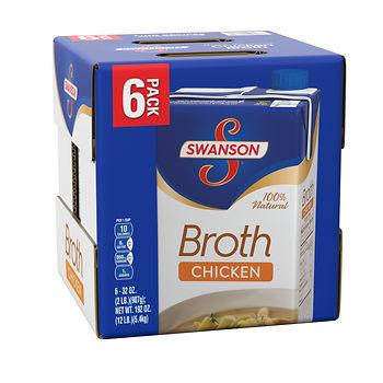 swanson chicken broth price at BJs