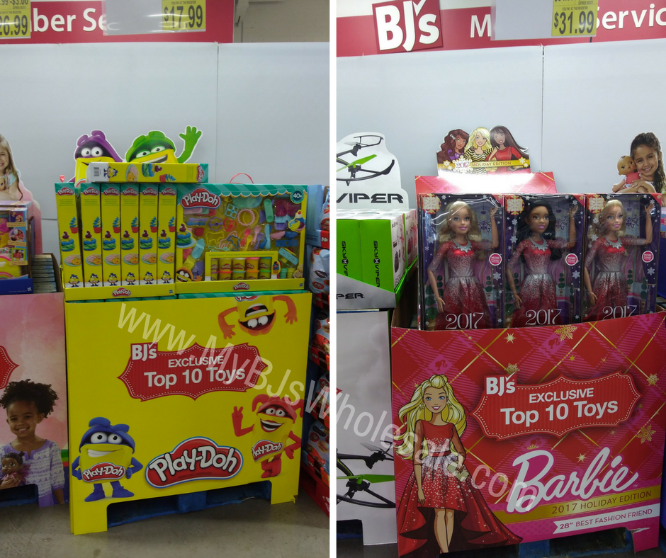 Top 10 toys at BJs Wholesale for 2017