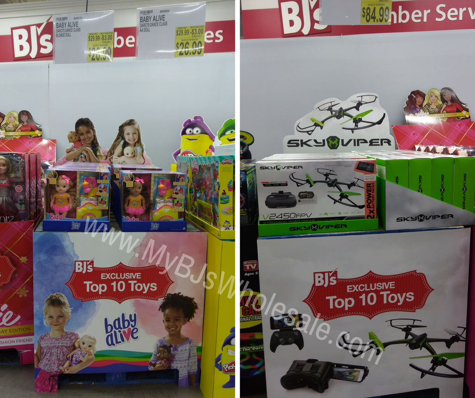 Top 10 exclusive toys at BJs Wholesale for 2017