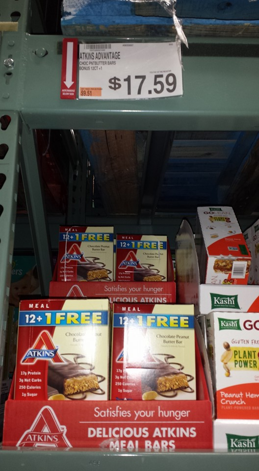 atkins advantage deal at BJs Wholesale