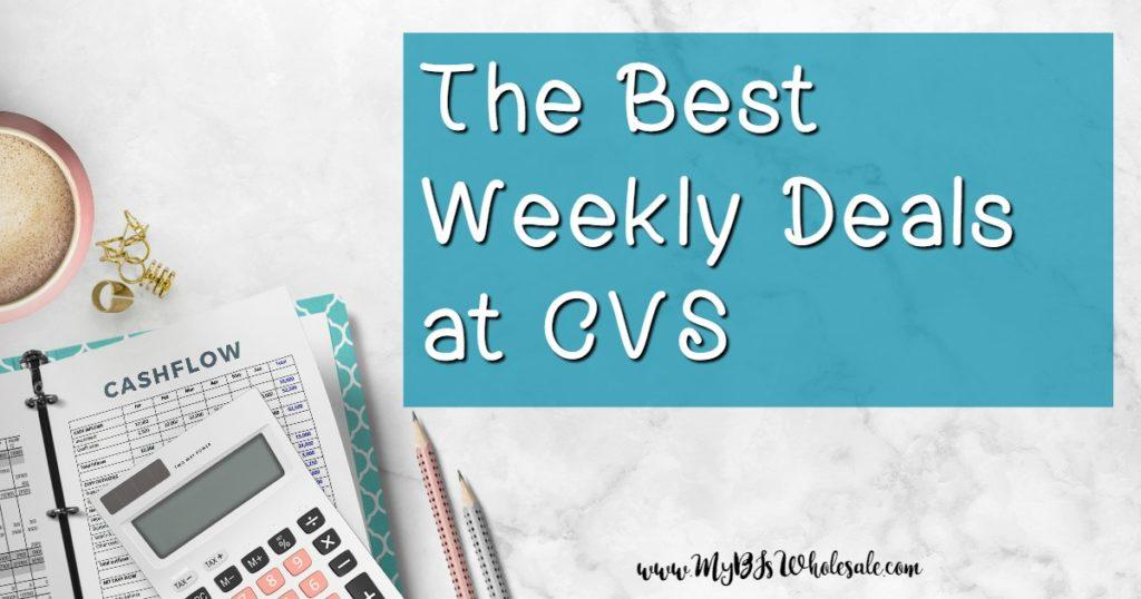 Best Deals at CVS this week