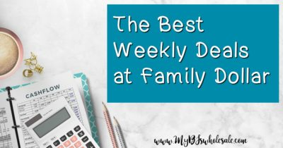Family Dollar Weekly Coupon Matchups