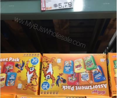Kellogg's Mini Cereal Variety Pack at BJs