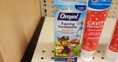 orajel toothpaste deal at Rite AId