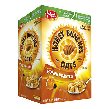 Post honey bunches of oats cereal at bJs