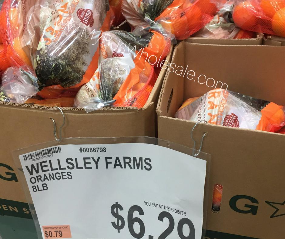 Wellsley Farms Oranges
