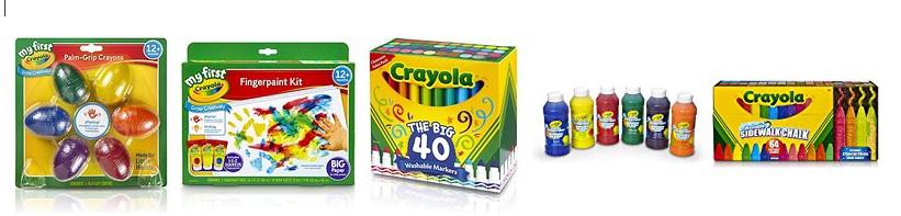 crayola deal on amazon