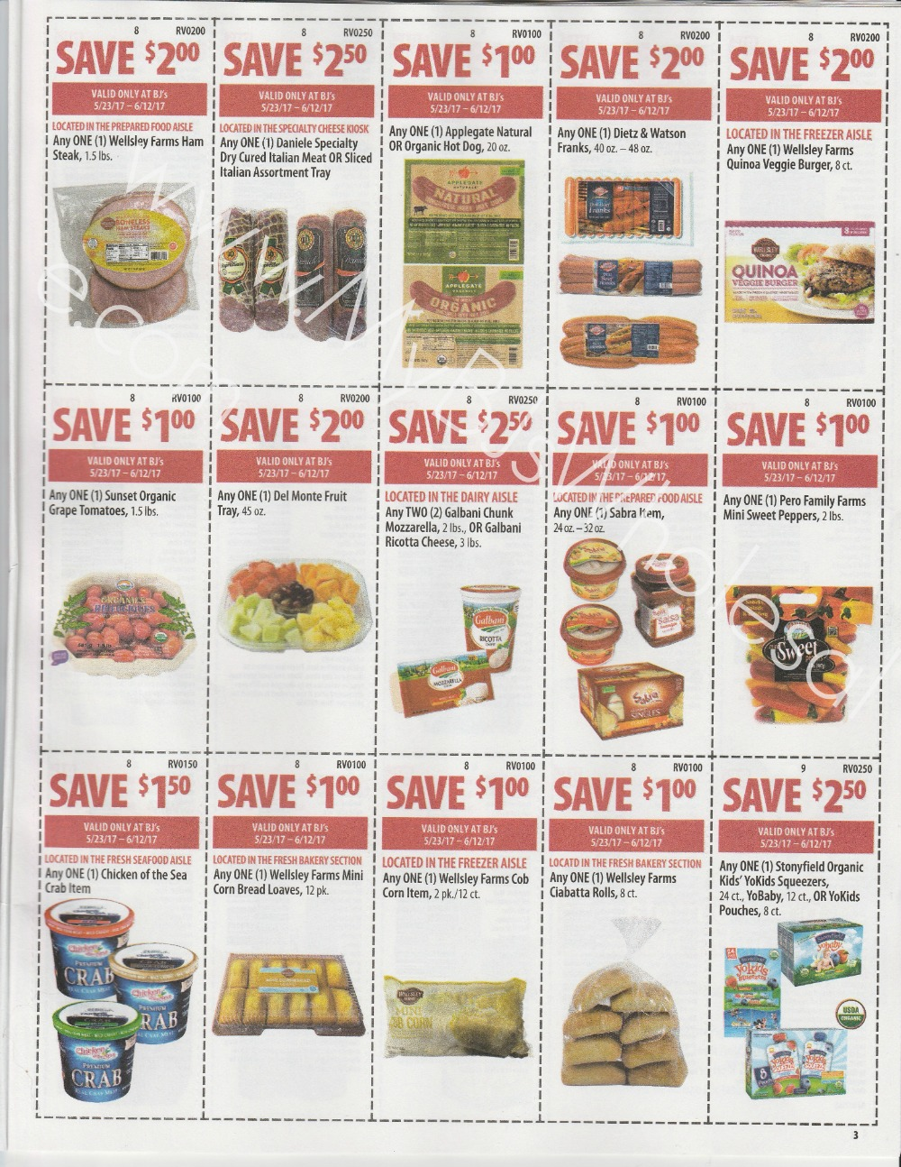 Bjs Front Of Club Coupon Matchups Scan 5 23 6 12 My Bjs Wholesale Club