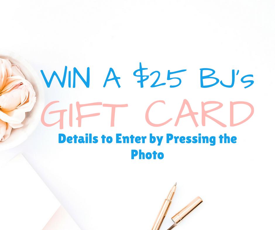 giveaway for BJs Gift card