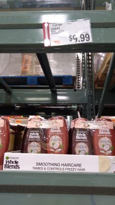 garnier whole blends shampoo and conditioner price at Bjs