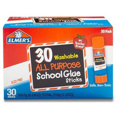 Elmer's glue sticks on amazon prime