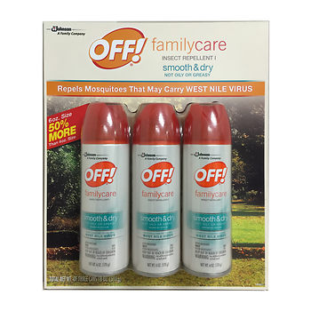 off dry insect bug spray at BJs